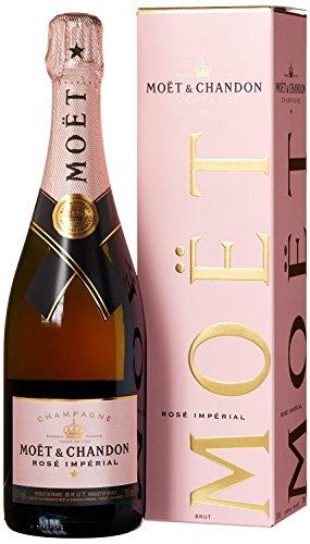Moët & Chandon Impérial Rosé in Geschenkverpackung (1 x 0.75 l) für 37,99 € @Amazon