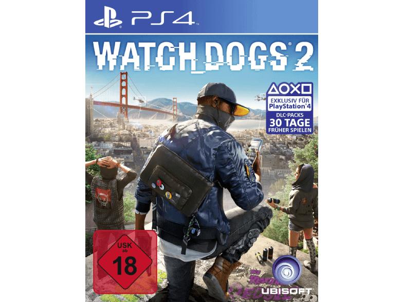 Watch Dogs 2 (Standard Edition) [PS4] - 29,00 EUR bei Abholung im Markt (Mediamarkt)