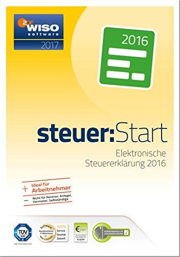 WISO steuer:Start 2017 (für Steuerjahr 2016 / Frustfreie Verpackung)