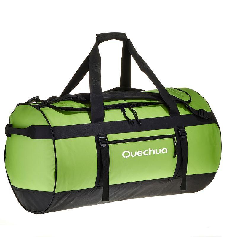 Trekkingtasche 100L grün QUECHUA