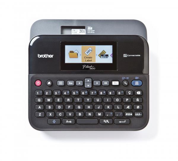 Brother P-touch D600VP Beschriftungsgerät [ca. -18% unter idealo]