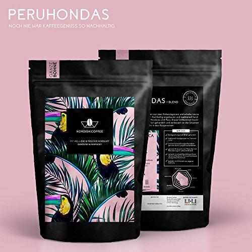Handgerösteter Bio & Fairtrade Kaffee 250 g (ganze Bohnen)