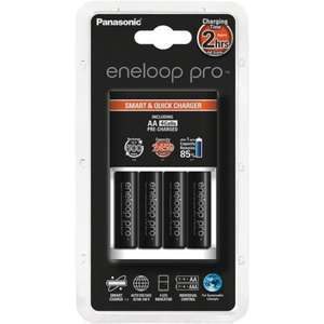 Panasonic Ladegerät BQ-CC16 mit 4 Eneloop Pro AA für 19,89€ bei Zahlung mit Paydirekt