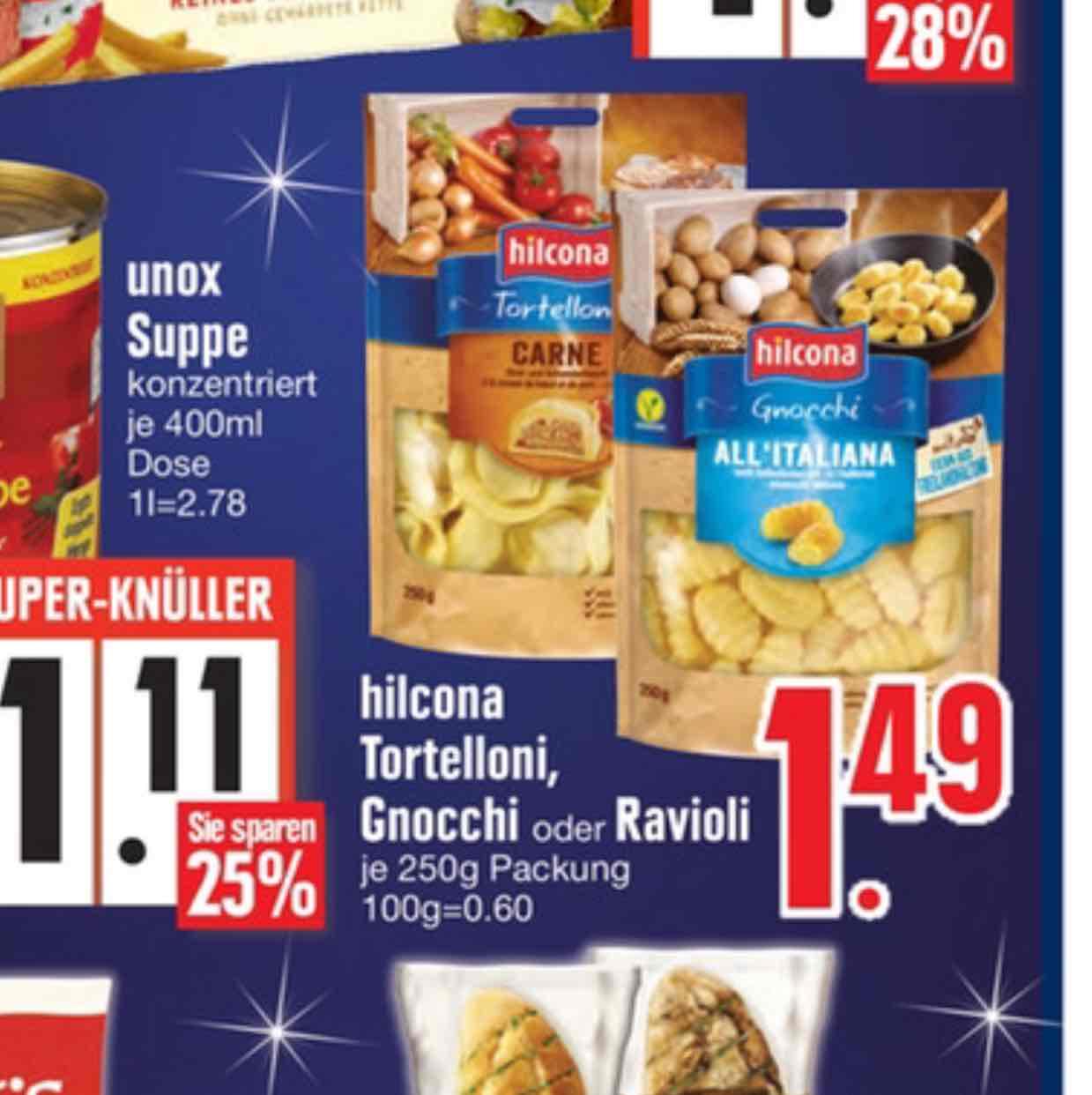 [Edeka Südbayern] Hilcona Pasta für 0,49€ (Angebot und Scondoo)