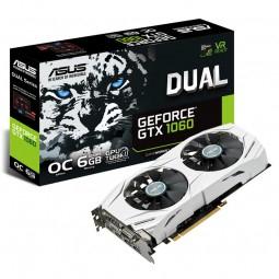 Asus Dual GeForce GTX 1060 6GB OC für 268,89€ - 20€ Cashback = 248,89€ [Caseking]