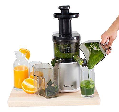 Amazon - HOME Essentials - Slow-Juicer JUI-8120 Slow-PRO für 83,30€