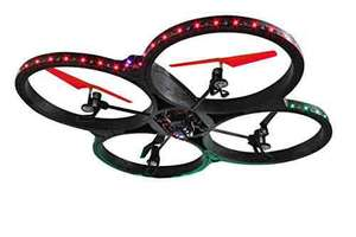 Amazon Jamara 038540 - Flyscout AHP+ Quadrocopter Komp/LED/Kamera von Jamara