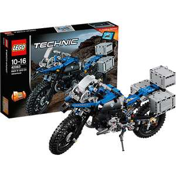 (mytoys) Lego 42063 Technic BMW R 1200 GS Adventure