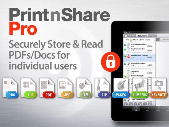 (iOS) PrintnShare Pro / Vollversion kostenlos statt 6,99 Euro (kurzfristig)