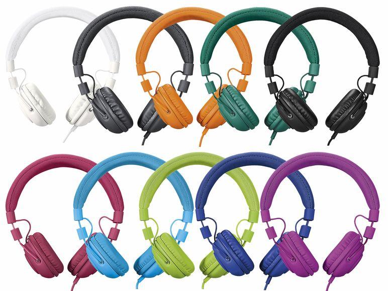 [Lidl] Günstiger Kopfhörer von Silvercrest in diversen Farben