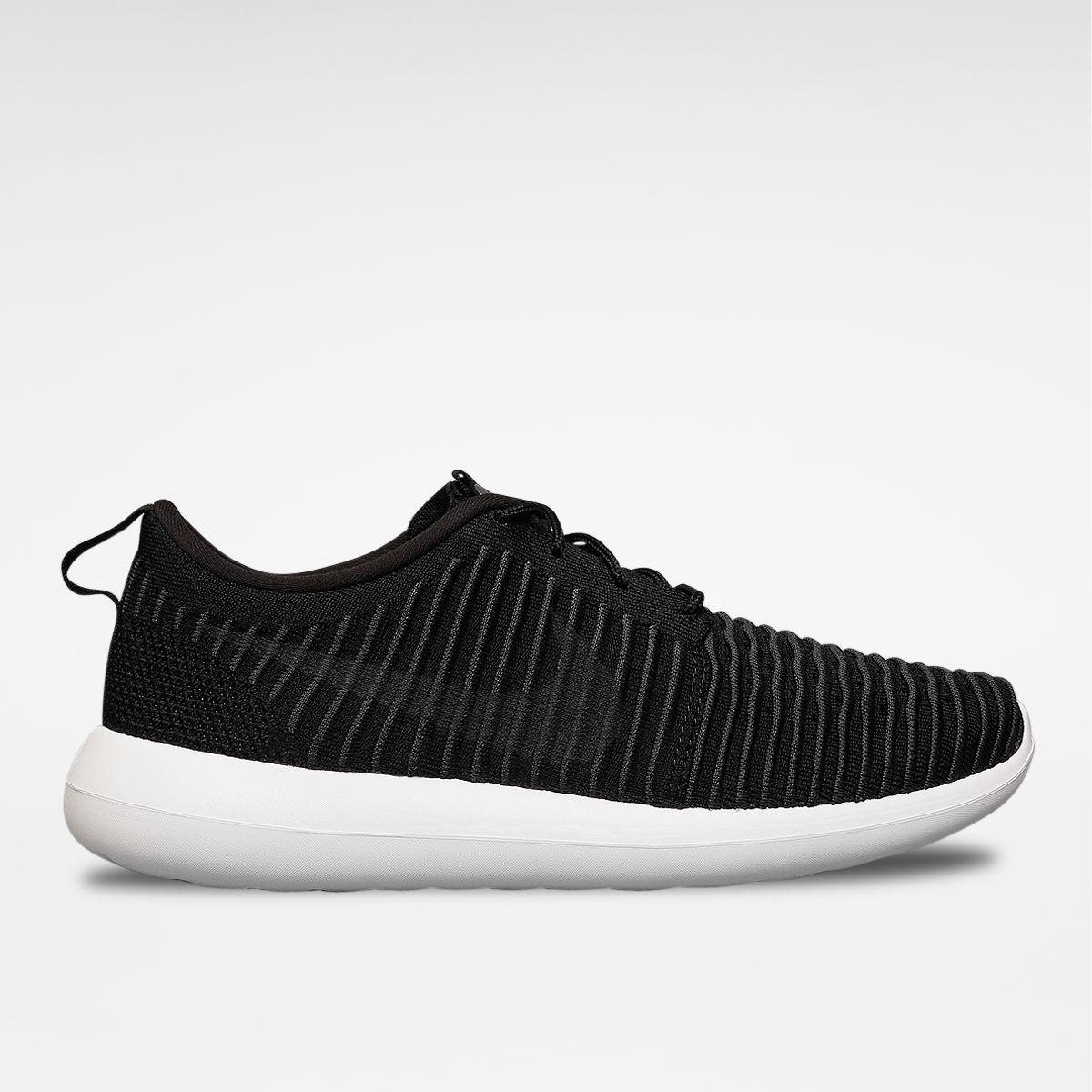 Nike Roshe Two Flyknit - Schwarz