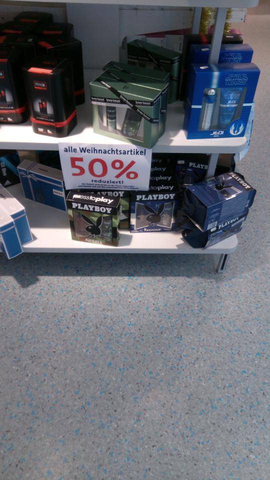 DM Tübingen 50% auf weihnachtsgeschenkboxen