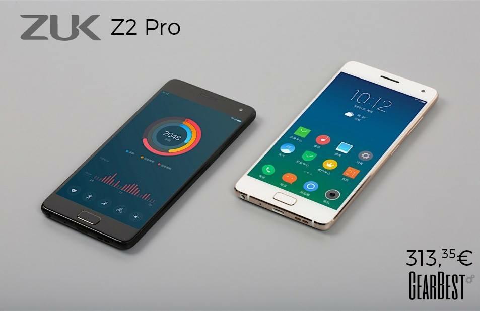 """[HK Gearbest] ZUK Z2 Pro 5,2"""" LTE 6GB/128GB SD820 USB-C FHD"""