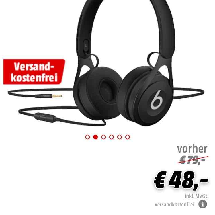 [Mediamarkt Online] Beats by Dr Dre EP Kopfhörer Schwarz, VSK-Frei