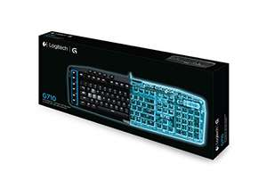 [WHD] Logitech G710 Mechanical Gaming Keyboard (QWERTZ Tastaturlayout) schwarz/blau