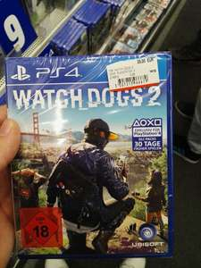 Mediamarkt Metrostraße Watch Dogs 2 PS4 29.00€