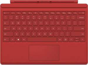 Microsoft Surface Pro 4 Type Cover in rot [XXL-Deals]
