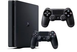 PS4 Slim 500 GB mit 2 Controllern über Media Markt Ebay