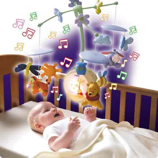 Winnie Puuh Mobile für' Baby statt 53,20€ für 26,97€