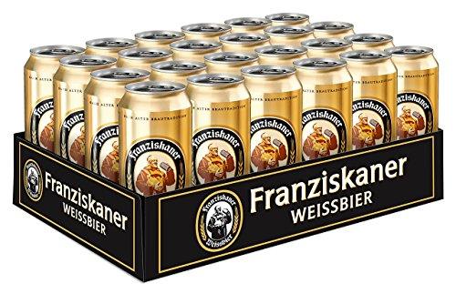 Amazon Blitzangebot Franziskaner Weissbier Dose (24 x 0.5 l)