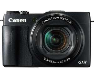 [Amazon Blitzangebot]Canon PowerShot G1X Mark II Digitalkamera (12,8 Megapixel, 5-fach optischer Zoom, 1:2-3,9, 24-mm Weitwinkel, Full-HD, CMOS Sensor) schwarz
