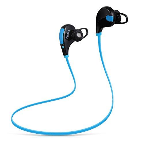 QY7 Sport-Kopfhörer Bluetooth 4.1 strahtloser In-Ear-Stereo-Ohrhörer für Rennen und Training  für 11€
