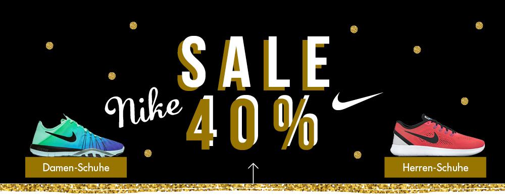 40 % SALE auf NIKE bei der [my-sportswear.de]. Alle Nike Artikel direkt reduziert! Schuhe, Textilien, Taschen... KEIN Mindestbestellwert!