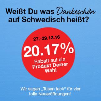 Effektiv 30,17% auf alles bei Clas Ohlson, z.B. Kärcher WV 2 Plus