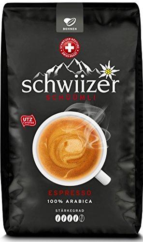 Schwiizer Schüümli Ganze Kaffebohnen Espresso 1KG für 9,74 mit Prime (sonst + versand)
