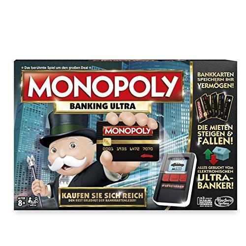 (Amazon Prime) Hasbro Monopoly Banking Ultra als Angebot des Tages für 23,99€