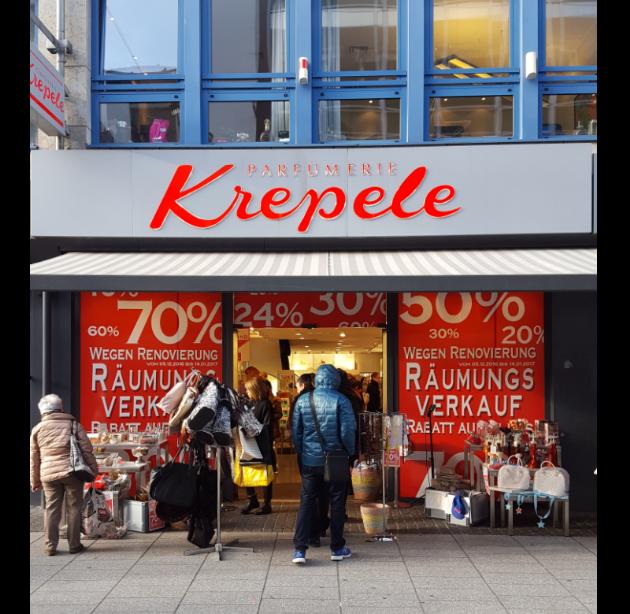 [Parfümerie Krepele Koblenz] 24% - 50% Rabatt auf Parfum und Kosmetik (Chanel, Jill Sander, Hugo Boss, Jean Paul Gaultier, Paco Rabanne,...)