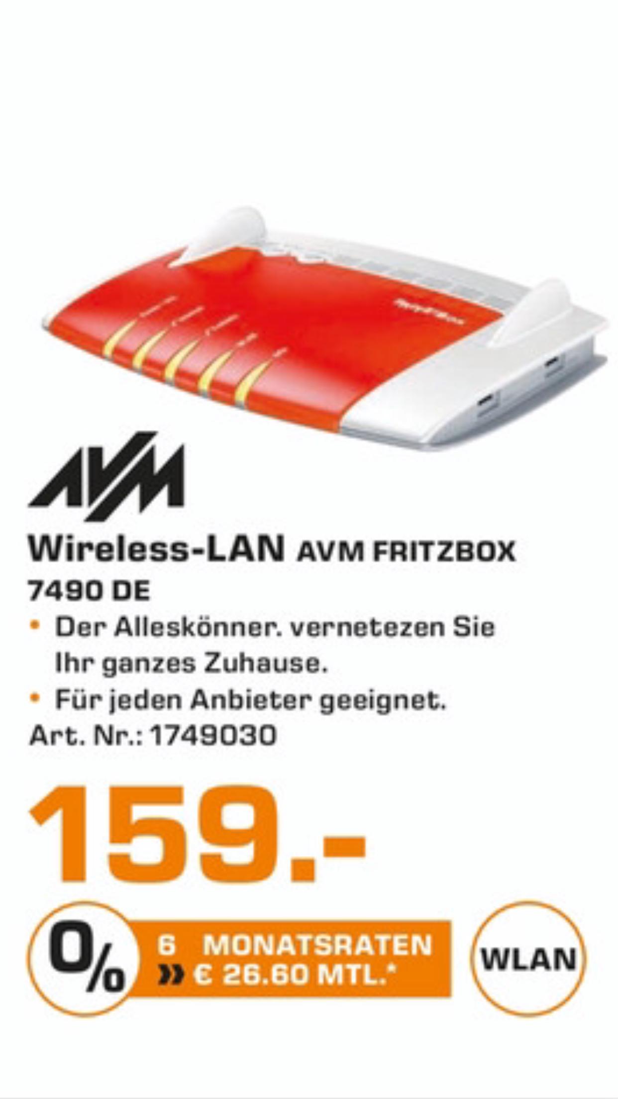 [Lokal] AVM FritzBox 7490 @ Saturn Ingolstadt