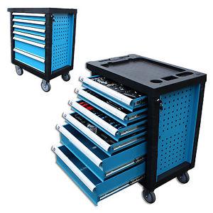 Werkstattwagen mit professionellem Werkzeug gefüllt 245 Teile