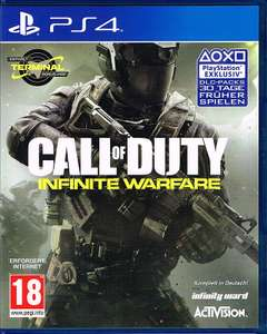 [PS4] Call of Duty Infinite Warfare UK Uncut Bonus Edition im Crazy Deal