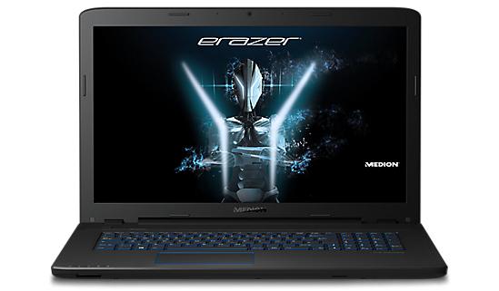 """Medion Erazer P7647 (MD 60324) für 829€ bei Medion - mattes 17,3"""" FullHD Notebook mit Core i5-7200U Prozessor, GeForce GTX 950M, 1,5TB HDD und 128 GB SSD, 8GB RAM"""
