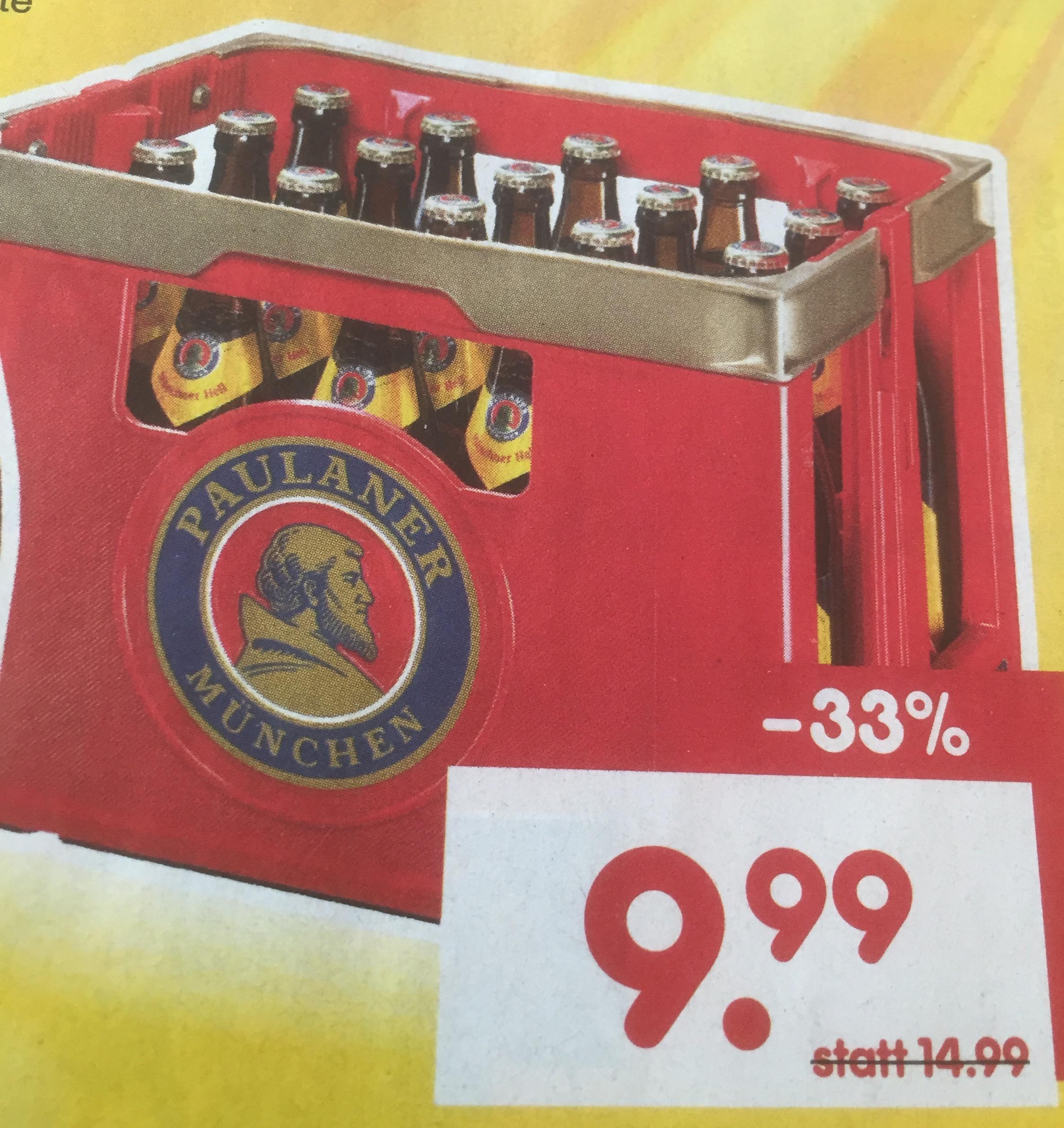 Bier Paulaner Münchner Hell [Netto MD Landshut]