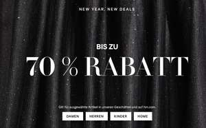 Happy New Home! Bis zu 70% Sale bei H&M Home