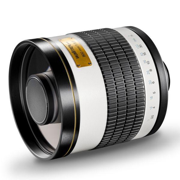 Walimex pro 800/8,0 Spiegeltele für Canon EF (und andere über Adapter)