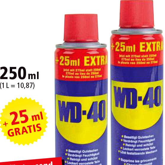 2 Dosen WD-40 Company Multi-Öl 275 ml für 5 €? [Philipps]
