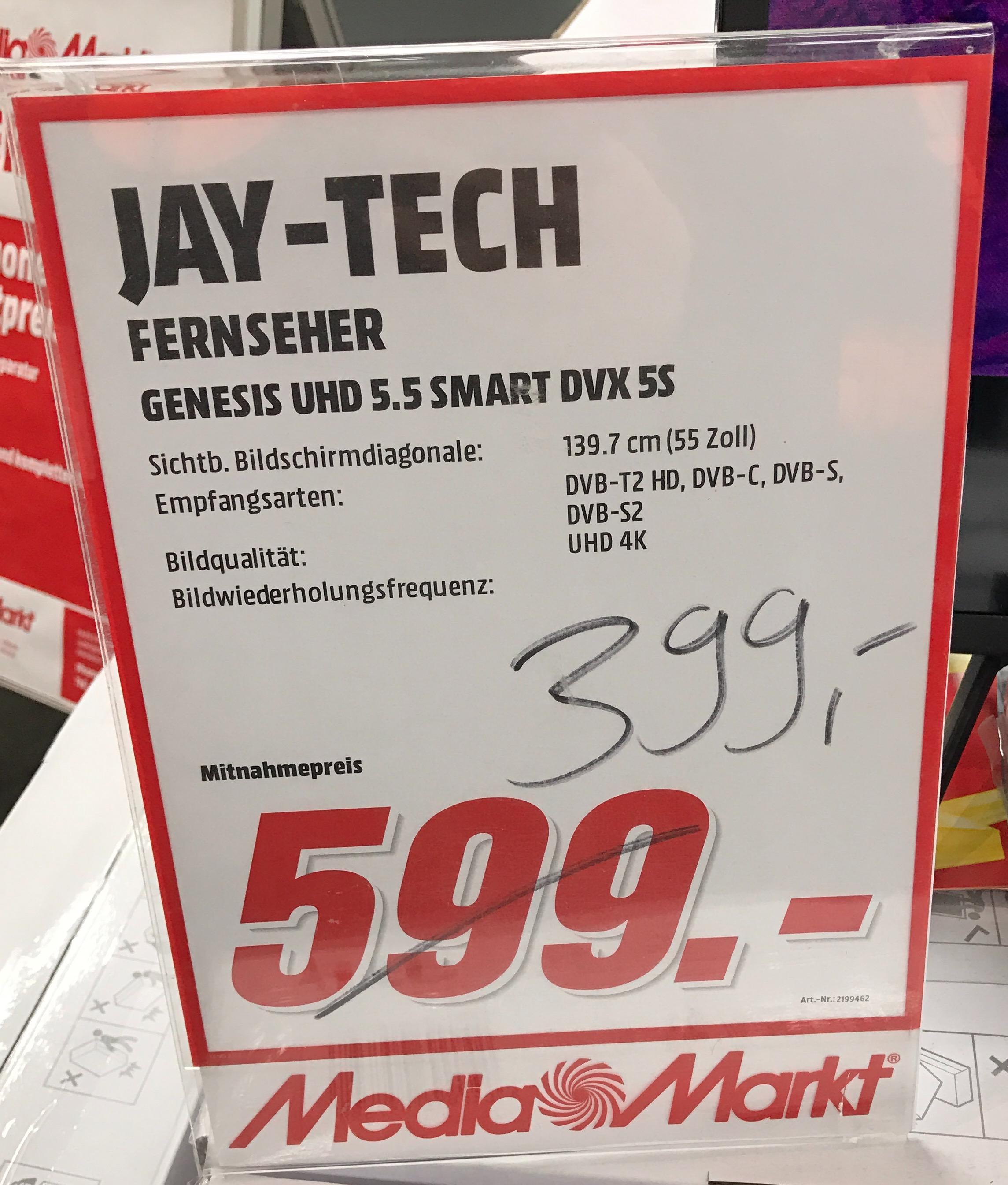 Lokal Media Markt Ludwigsburg Jay-tech GENESIS UHD 5.5
