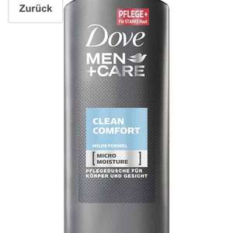Amazon Prime im Sparabo Dove Men+Care Duschgel Clean Comfort, 6er Pack (6 x 250 ml) für 6,34 Euro