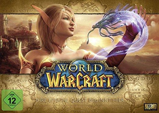 World of Warcraft Battlechest 5.0 Alle Addons ausser Legion + 30Tage Gametime