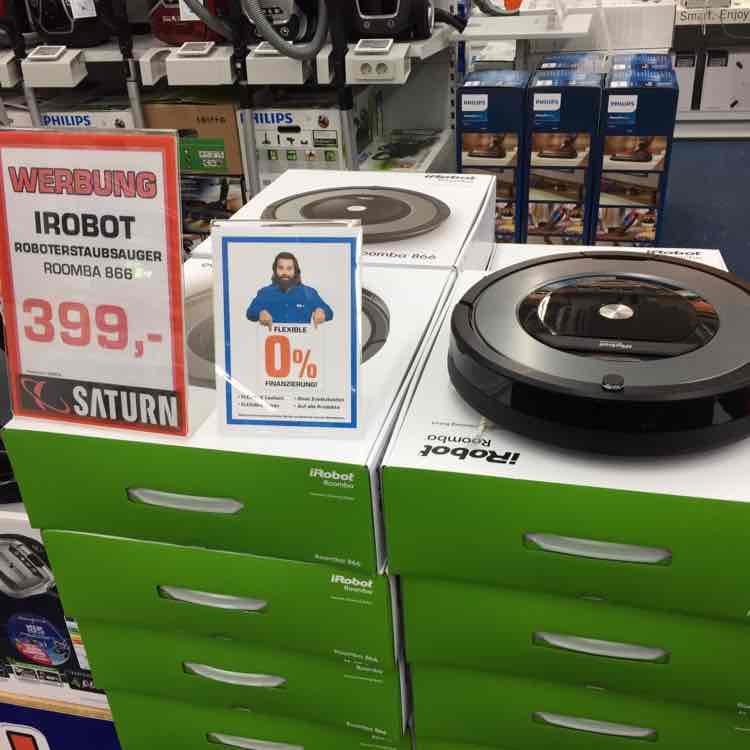 iRobot Roomba 866 - Saturn Düsseldorf Königsallee