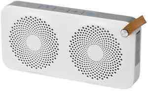 [eBay] WoW Medion LIFEBEAT E61029 MD 84949 Lautsprecher Bluetooth 2.1 2x 3 Watt AUX weiß klein