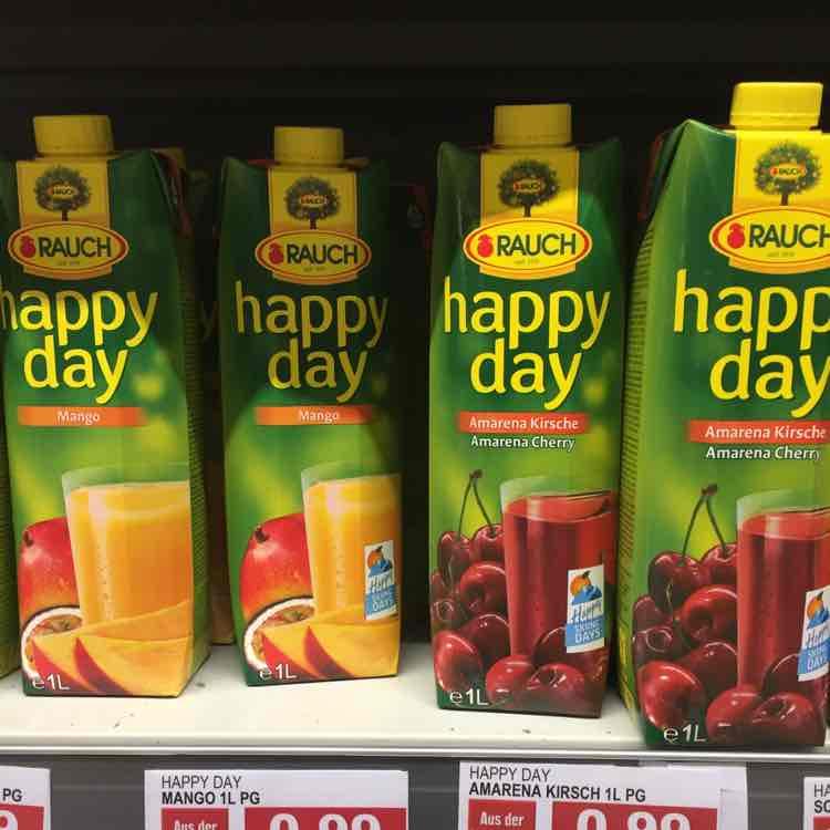 Rauch happy day Säfte