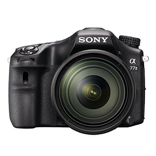 [Amazon Blitzangebot] Sony ILCA Alpha 77 IIQ SLR-Digitalkamera (24,3 Megapixel, 7,6 cm (3 Zoll) LCD-Display, 79-Phasen AF-Messfelder, 12 Bilder/Sek, OLED-Sucher und Autofokus) Kit inkl. SAL-1650 Objektiv