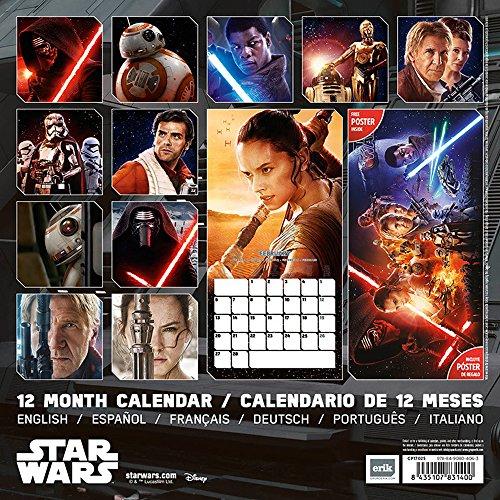 Star Wars Kalender für 6,99 Euro