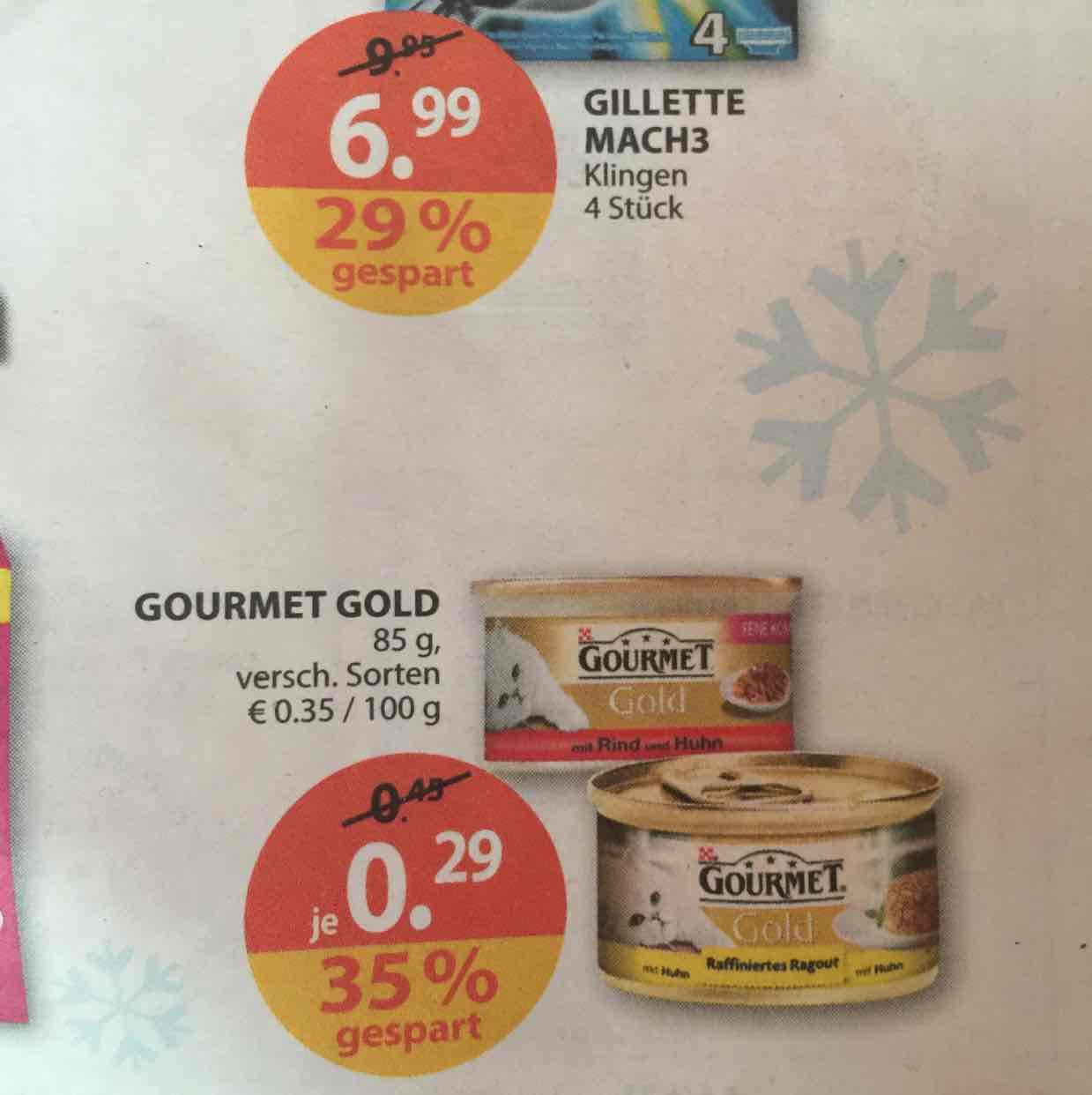 Müller Gourmet Gold Katzenfutter 85g Dose