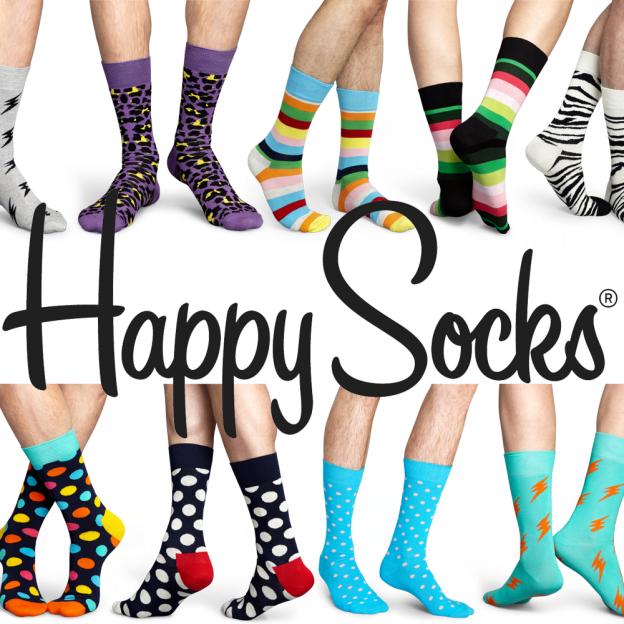 Happy Socks für 4,50€ + 6,50€ Vsk @vente-privee
