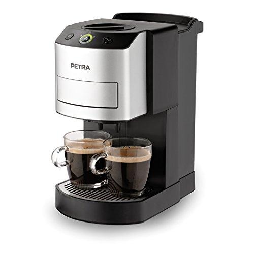 [Amazon Frankreich] Petra Electric KM 44.07 Kaffee-Pad-Automat